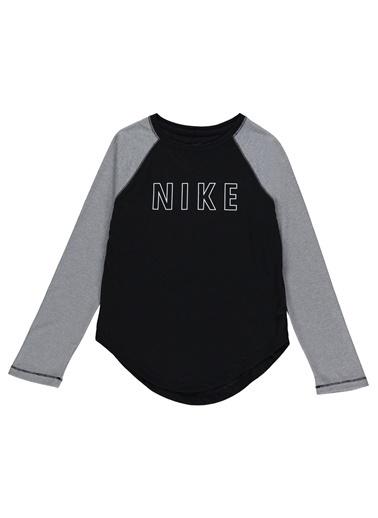 Nike Nike CU8539010 G Dry Trophy Ls Top TShirt Siyah